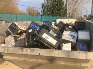 Fer et métaux, casse à Romilly sur Seine dans l'Aube, 10, Batterie casse aube