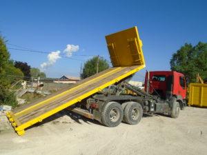 Location de bennes pour gravats et déchets pour recyclage dans l'Aube, 10