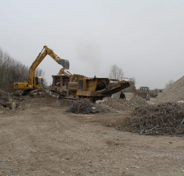 Recyclage béton, Adnot à Romilly sur Seine, Crancey, Provins, Aube, 10